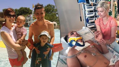 Man duikt op Mallorca in zwembad en knalt met hoofd tegen bodem. Als vrienden hem uit water halen ademt hij niet meer