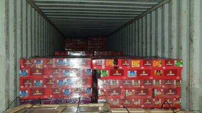 56 miljoen sigaretten en 17 ton waterpijptabak in beslag genomen in Antwerpse haven