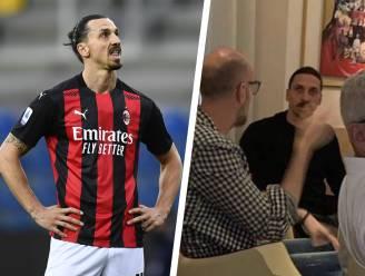Weer commotie rond Zlatan Ibrahimovic: foto's van Zweed in restaurant zorgen voor ophef in Italië