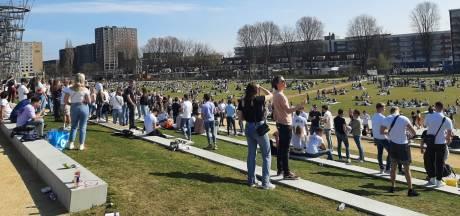 Spoorpark in Tilburg is weer vol: niemand mag meer naar binnen, maar er wordt niet ontruimd