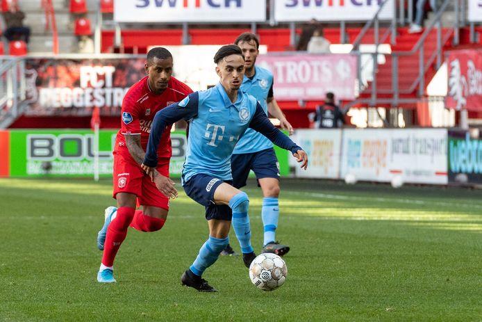 Ook tegen FC Twente was Othmane Boussaid weer basisspeler.