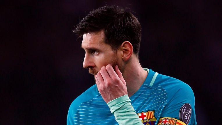 Lionel Messi staat op 8 maart met Barça voor een hopeloze opdracht. Beeld AP