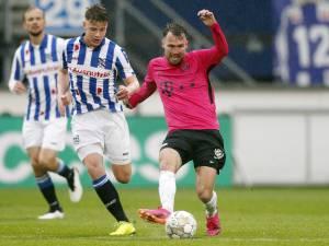 FC Utrecht loopt in strijd om plek 5 averij op tegen risicoloos Heerenveen