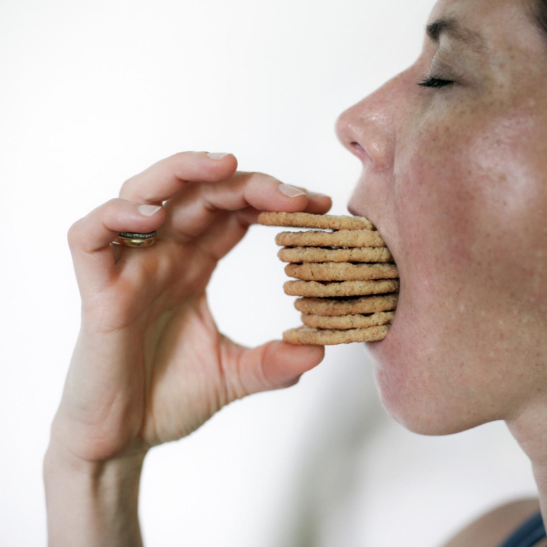 De hamster in je brein wil eten, veel eten. Beeld Shutterstock