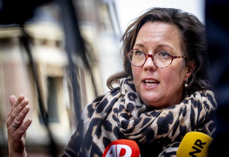 Tamara van Ark, demissionair minister voor Medische Zorg (VVD). Beeld ANP