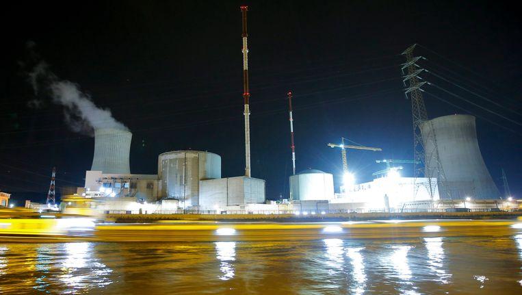 De kerncentrale van Tihange (Hoei). Beeld EPA