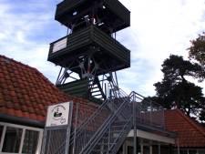 Monument en Landschap zag al in 2018   af van herbouw uitkijktoren op de Sterrenberg in Beek