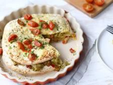 Wat Eten We Vandaag: Wraptaart met kip en pesto