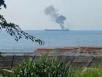 """""""Drie doden bij raketaanval op olietanker in Syrische haven"""""""