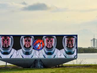 SpaceX lanceert voor het eerst astronauten naar het ISS met gerecycleerde rakettrap