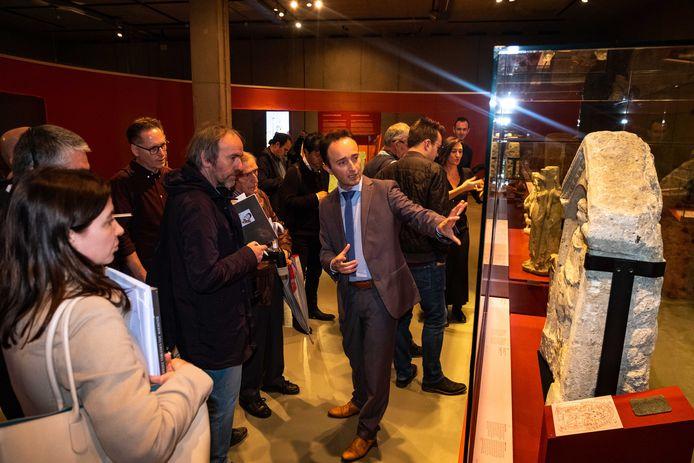 Opening Dacia Felix tentoonstelling in het Gallo-Romeins Museum.