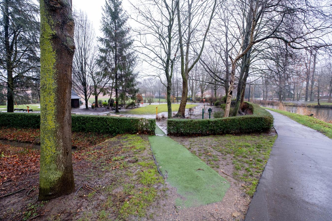 Het stadspark in Lier.