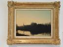 Een vergelijkbaar vroeg werk van Piet Mondriaan: Kerk aan het Water, 1890, Collectie Gemeente Bronckhorst