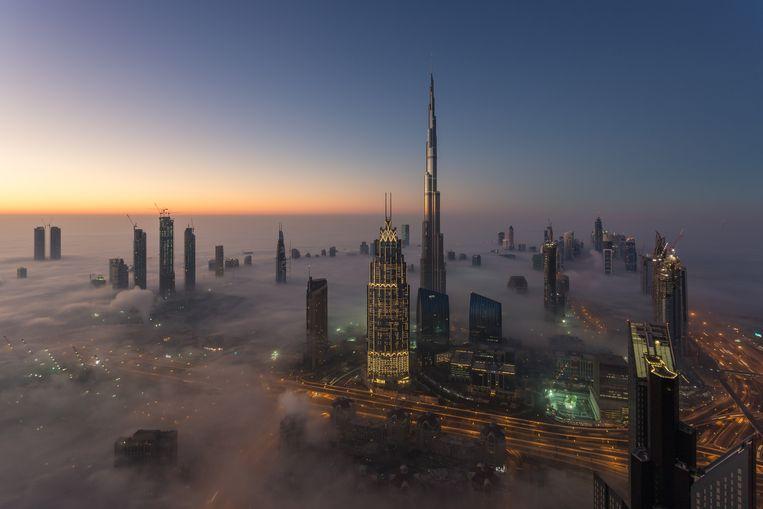 Dubai, onderdeel van de Verenigde Arabische Emiraten. Nederland heeft geen uitleveringsverdrag met  dat land, maar ambtenaren zouden achter de schermen al maanden hebben gezocht naar een oplossing voor de uitlevering van Ridouan T.  Beeld null
