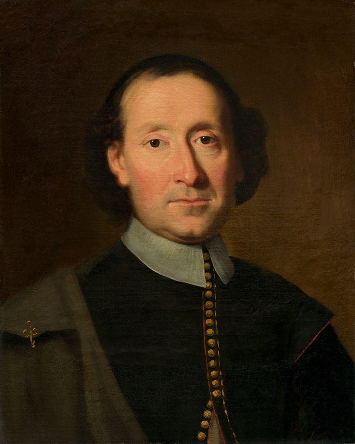 Adriaen van der Donck zoals hij hangt in de National Gallery of Art in Washington DC.