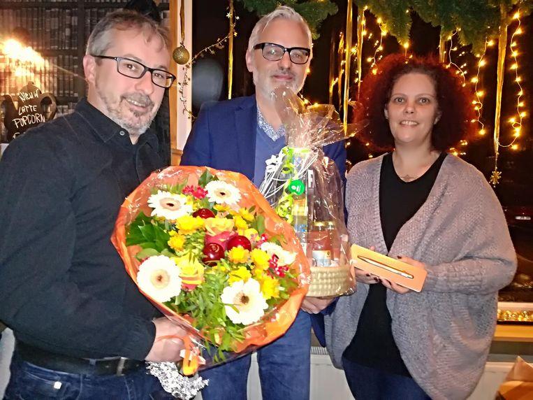 Jan Van Vlasselaer, Jan Verlinden en Petra Boogaerts.