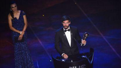 Alisson verkozen tot FIFA-doelman van het jaar, valt ook Hazard in de prijzen?
