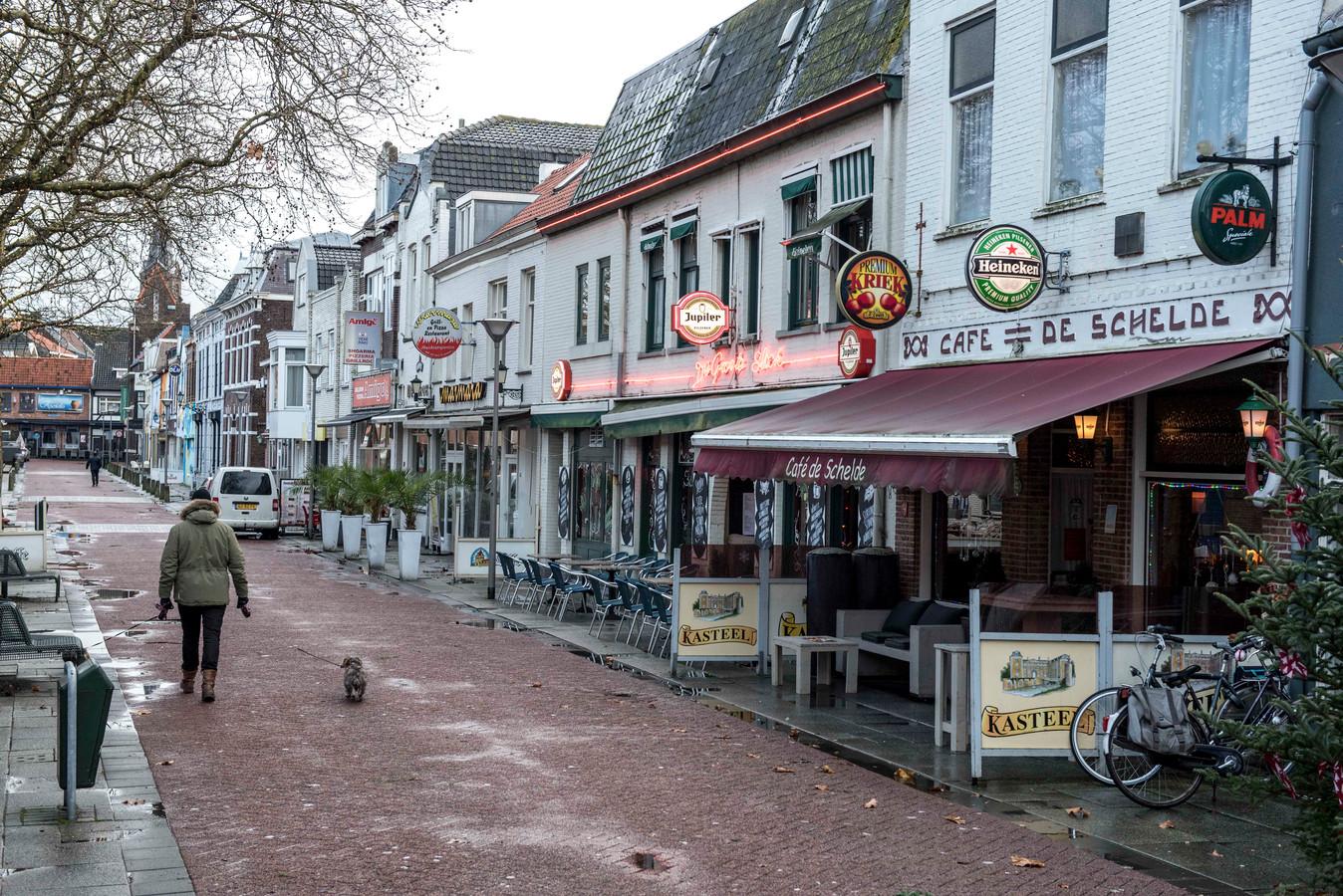 Nieuwstraat in Terneuzen (archief).