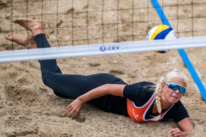 Raïsa Schoon, in Tokio deelneemster aan het olympisch beachvolleybaltoernooi, staat met Voltena voor haar eredivisiedebuut in de zaal.