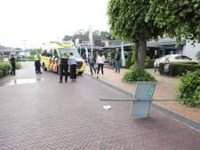 Fietser in Lemelerveld gewond aan hoofd door omvallend verkeersbord