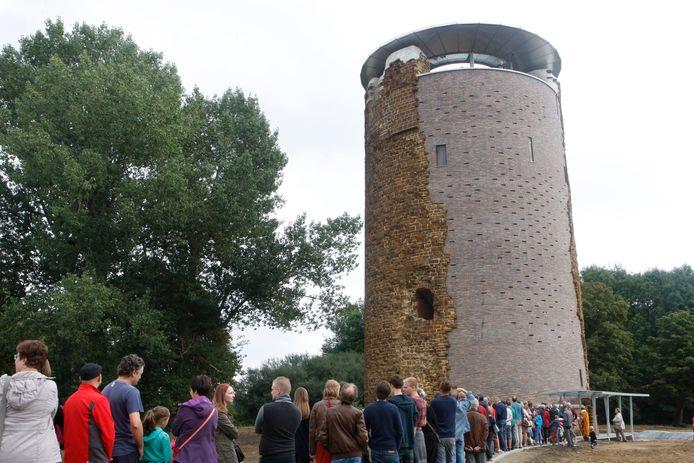 De maagdentoren in Zichem.