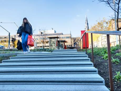 Ernstige struikelpartij op buitentrap Inwonersplein Eindhoven geen reden voor aanpassingen