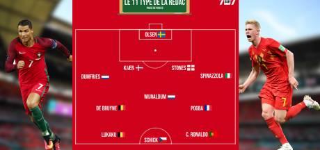 Lukaku, De Bruyne, Ronaldo, Pogba: notre équipe type de la phase de poules de l'Euro