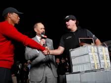 Woods en Mickelson met American football-sterren tegenover elkaar in 'The Match 2'
