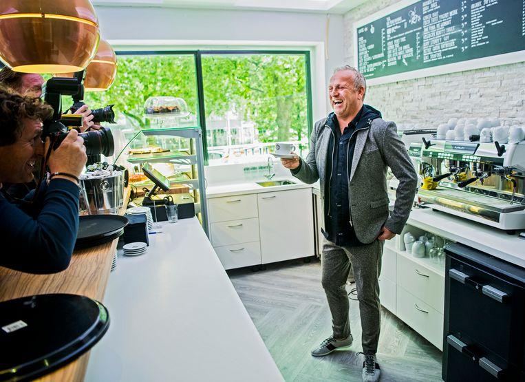 Gordon, die met Blushing een kleine koffieketen opzette. Beeld Frank de Roo
