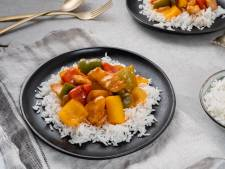 Wat Eten We Vandaag: Zelfgemaakte 'chicken tonight' met rijst