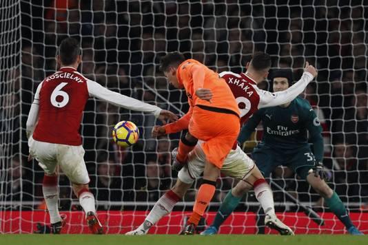 Roberto Firmino met de derde Liverpool-goal.