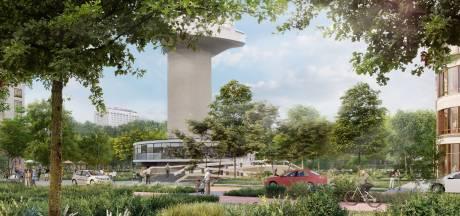 Ontwikkelaar omstreden bouw Parkhaven komt tegenstanders tegemoet: meer ruimte Euromast