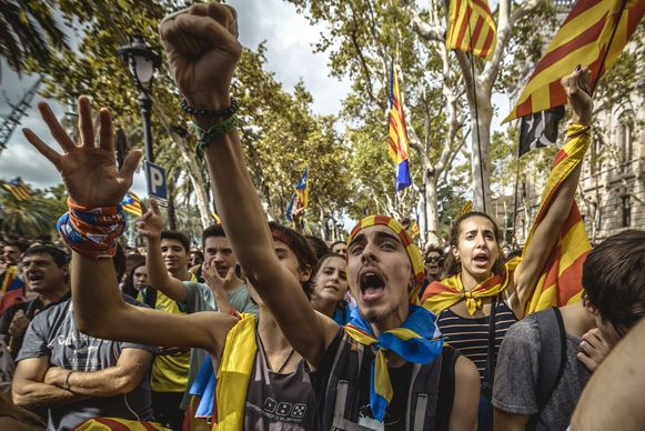 Catalaanse separatisten