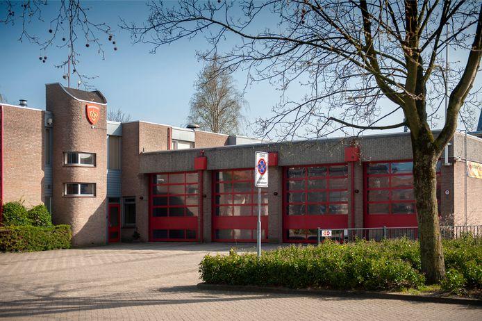 De huidige brandweerkazerne aan de Wilhelminastraat in Drunen.