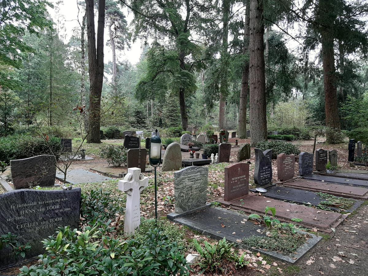 Foto van een begraafplaats ter illustratie.