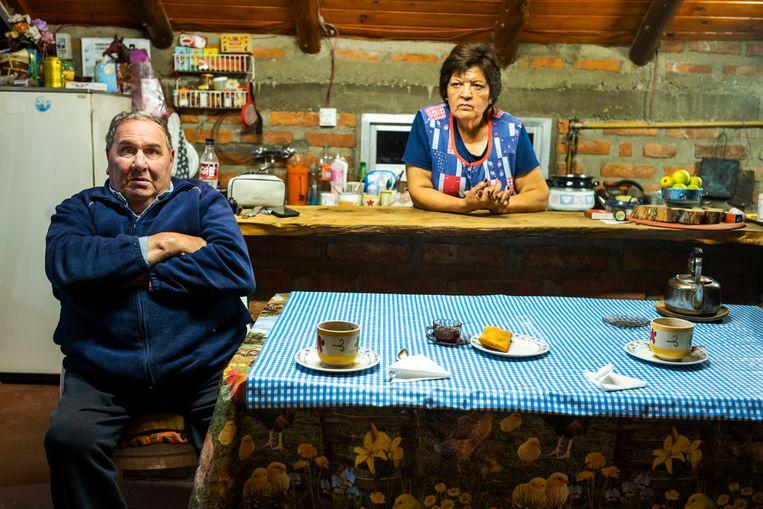 Carlos Sfeir en zijn vrouw Neculman zijn de buren van koningin Máxima. Beeld Rechtenvrij