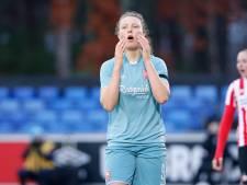 FC Twente Vrouwen verliest bij PSV en gaat als nummer 3 de winterstop in