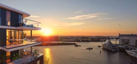 Top-penthouses aan de Binnenhaven: C-Dock in de verkoop