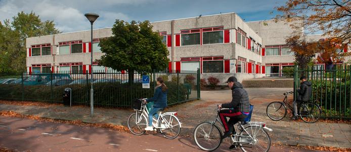 Het Jeroen Bosch College dat vrijkomt.