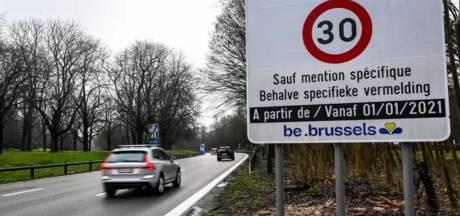 30 km/h à Bruxelles: un premier bilan positif, les résultats biaisés selon Georges-Louis Bouchez