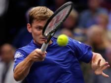 Aucun changement dans le top 30 du classement ATP, Goffin toujours 11e