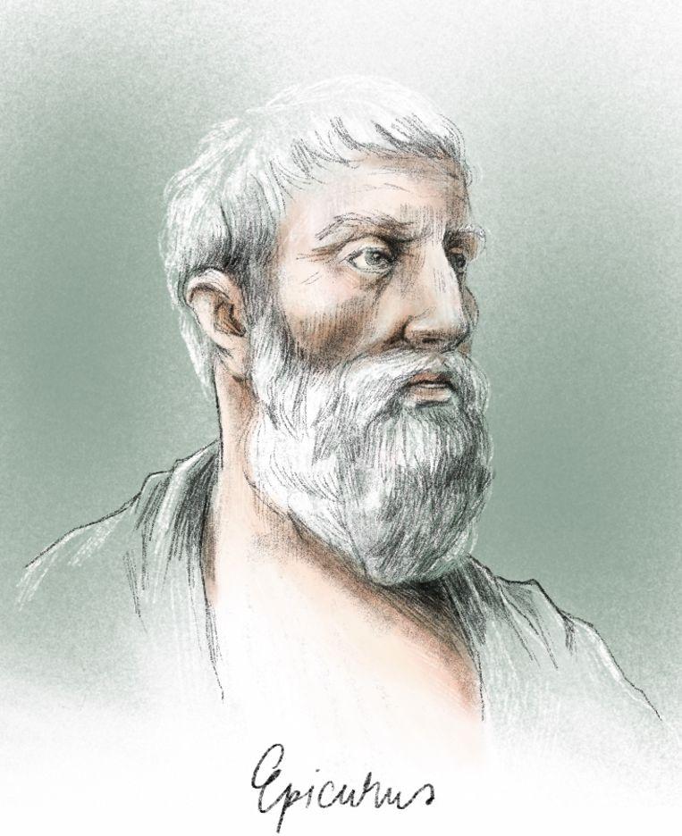 Johan Braeckman: 'Volgens Epicurus was je vrij om je leven zelf in te vullen. Met de zelfgekozen dood had hij geen probleem.' Beeld Penelope Deltour