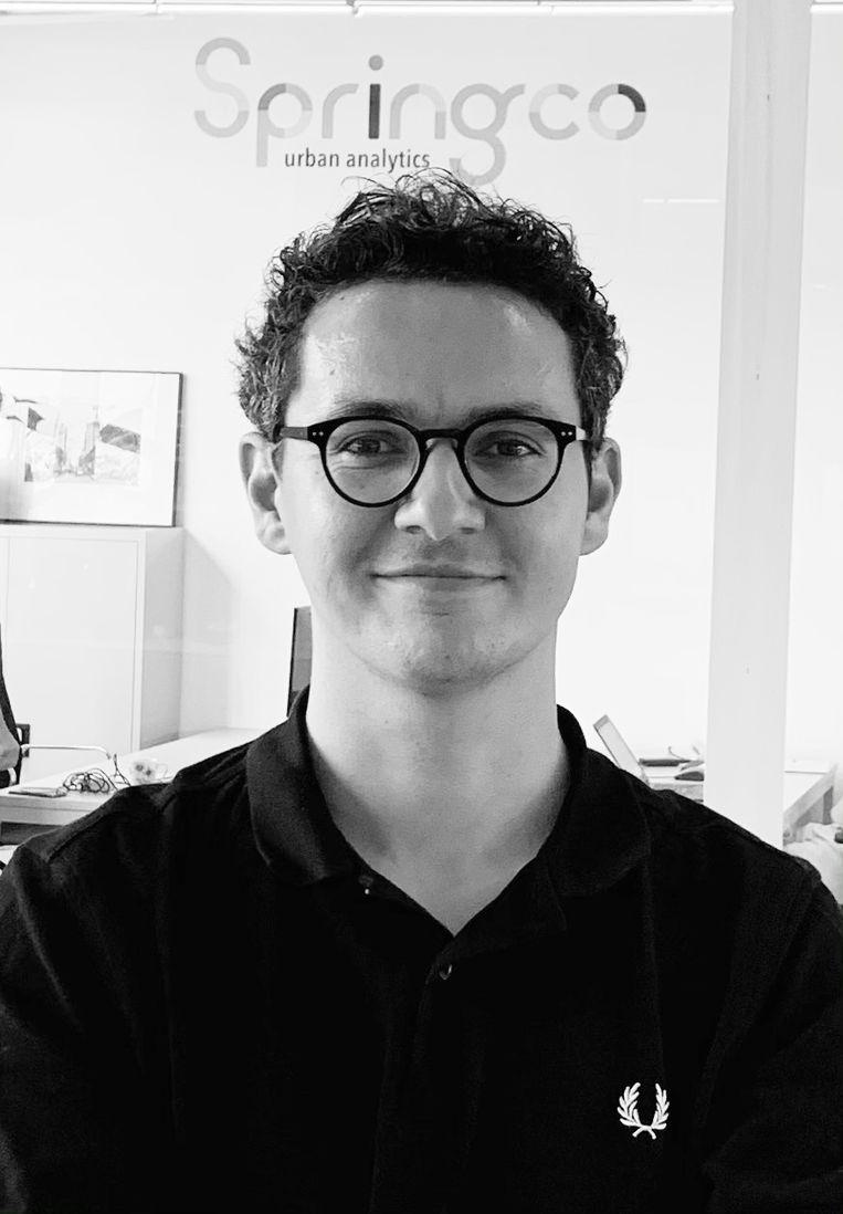 Tijn Croon is promovendus aan de TU Delft en adviseur bij Springco Urban Analytics. Beeld
