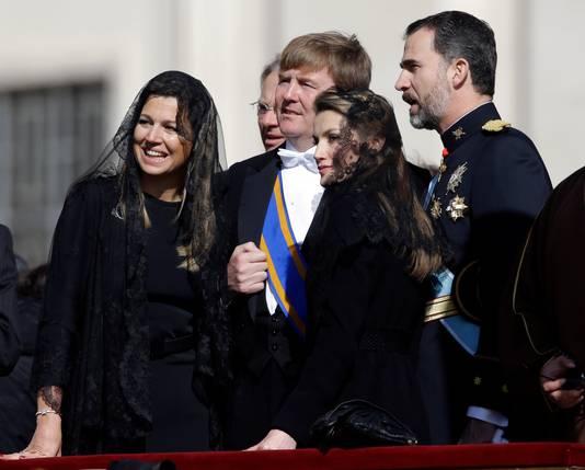 Prins Willem-Alexander en prinses Máxima.
