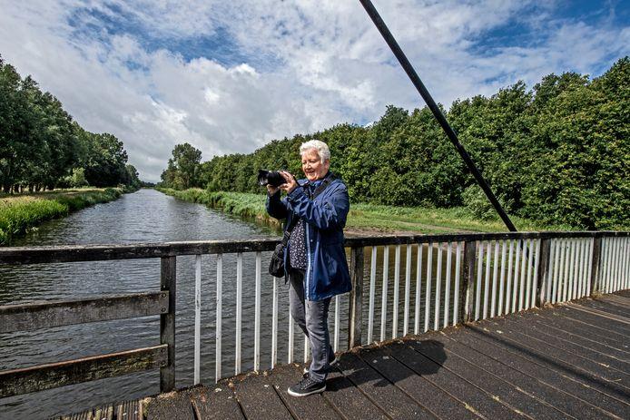 Desirée van Veen van Wijngaarden gaat graag met haar camera het Mallebos in.