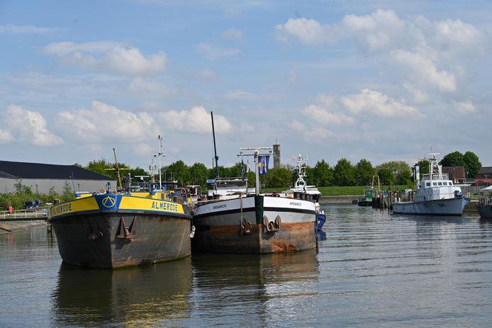 Drugsboot in Moerdijk
