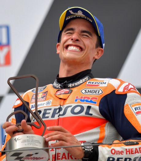 Marc Marquez renoue avec la victoire après un an et demi au Grand Prix d'Allemagne