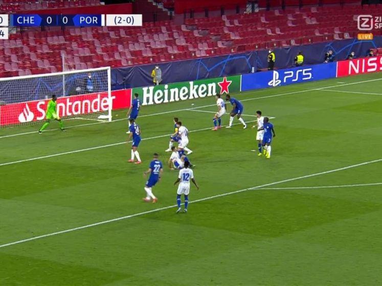 Porto-invaller maakt een van de mooiste  Champions League-goals ooit