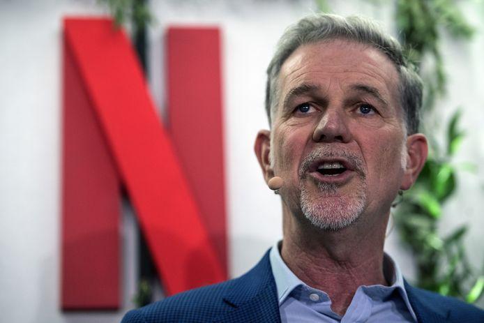 Mede-oprichter en directeur van Netflix Reed Hastings.