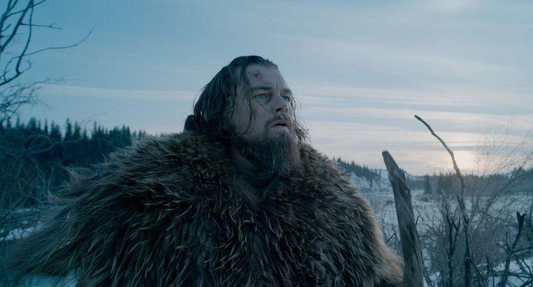 Leonardo DiCaprio in The Revenant. Beeld
